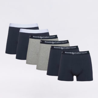 Knowledge Cotton Maple 6 Pack Underwear 1001 Total Eclipse XL - Biorre.cz - udržitelný nákup