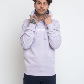 Knowledge Cotton Sallow Knowledge Hoodie Sweat 1297 Lavender Blue XL - Biorre.cz - udržitelný nákup