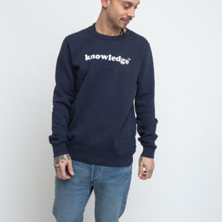 Knowledge Cotton Sallow Knowledge Sweat 1001 Total Eclipse XL - Biorre.cz - udržitelný nákup