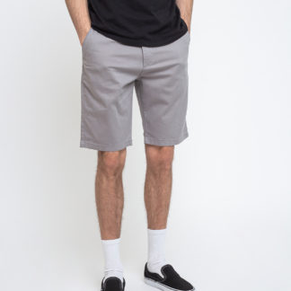 Knowledge Cotton Chuck Regular Chino Shorts 1227 Alloy 36 - Biorre.cz - udržitelný nákup