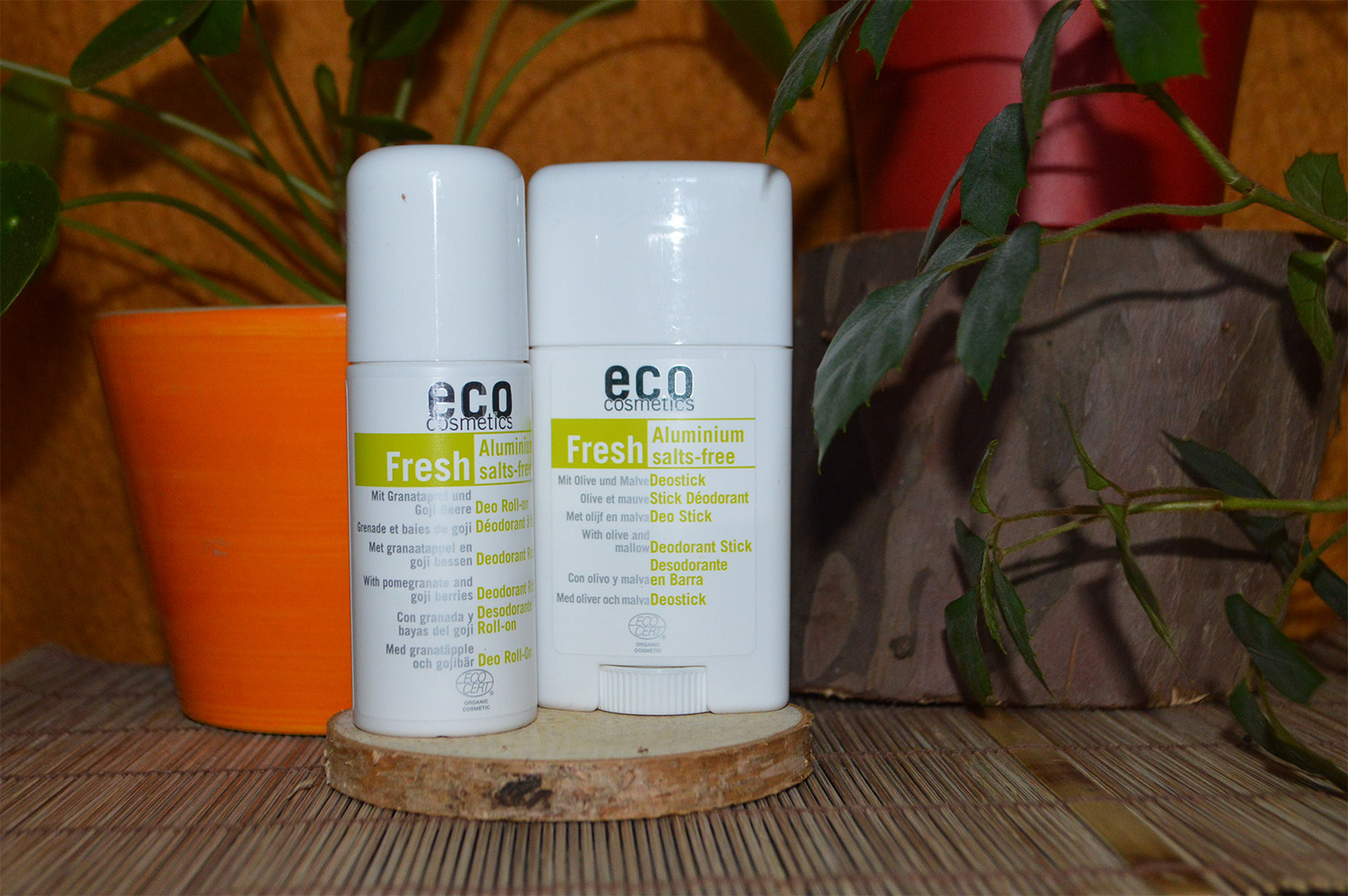 Eco Cosmetics deodorant a roll-on