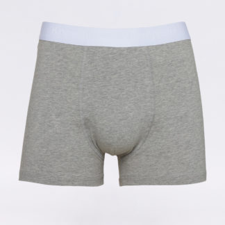 Knowledge Cotton 1 Pack Solid Colored Underwear 1012 Grey Melange S - Biorre.cz - udržitelný nákup
